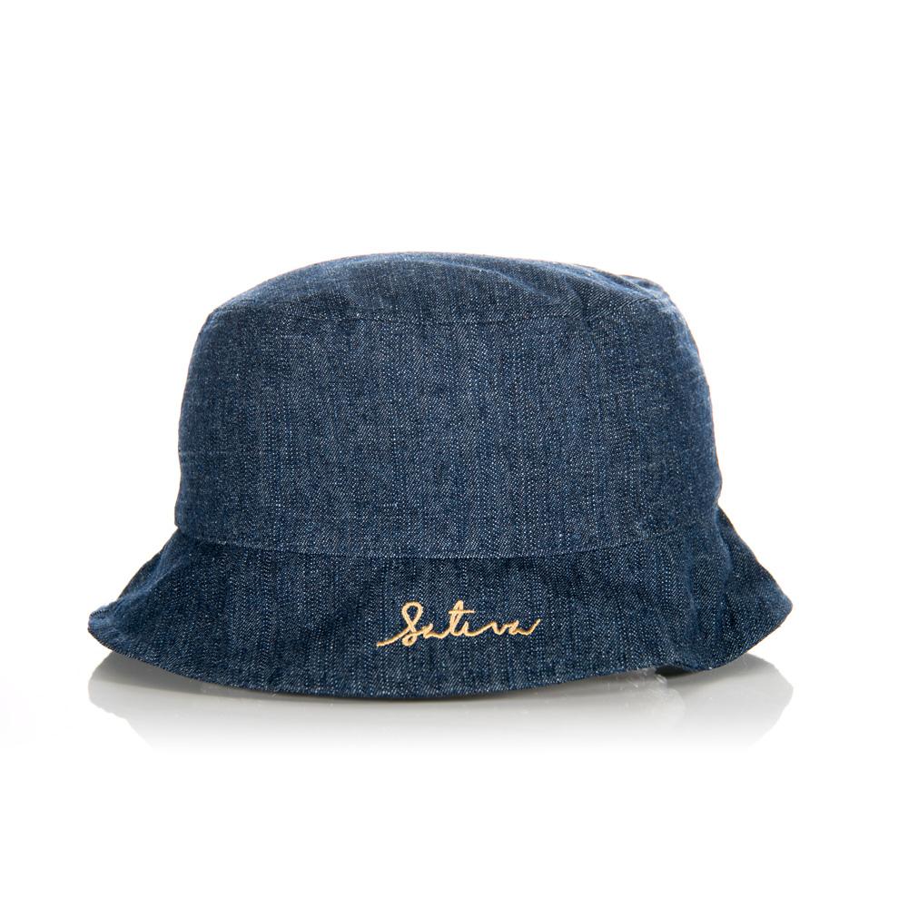 Sativa Hemp Script Fisherman Bucket Hat (Clearance) - Official ... d95ab9a676b