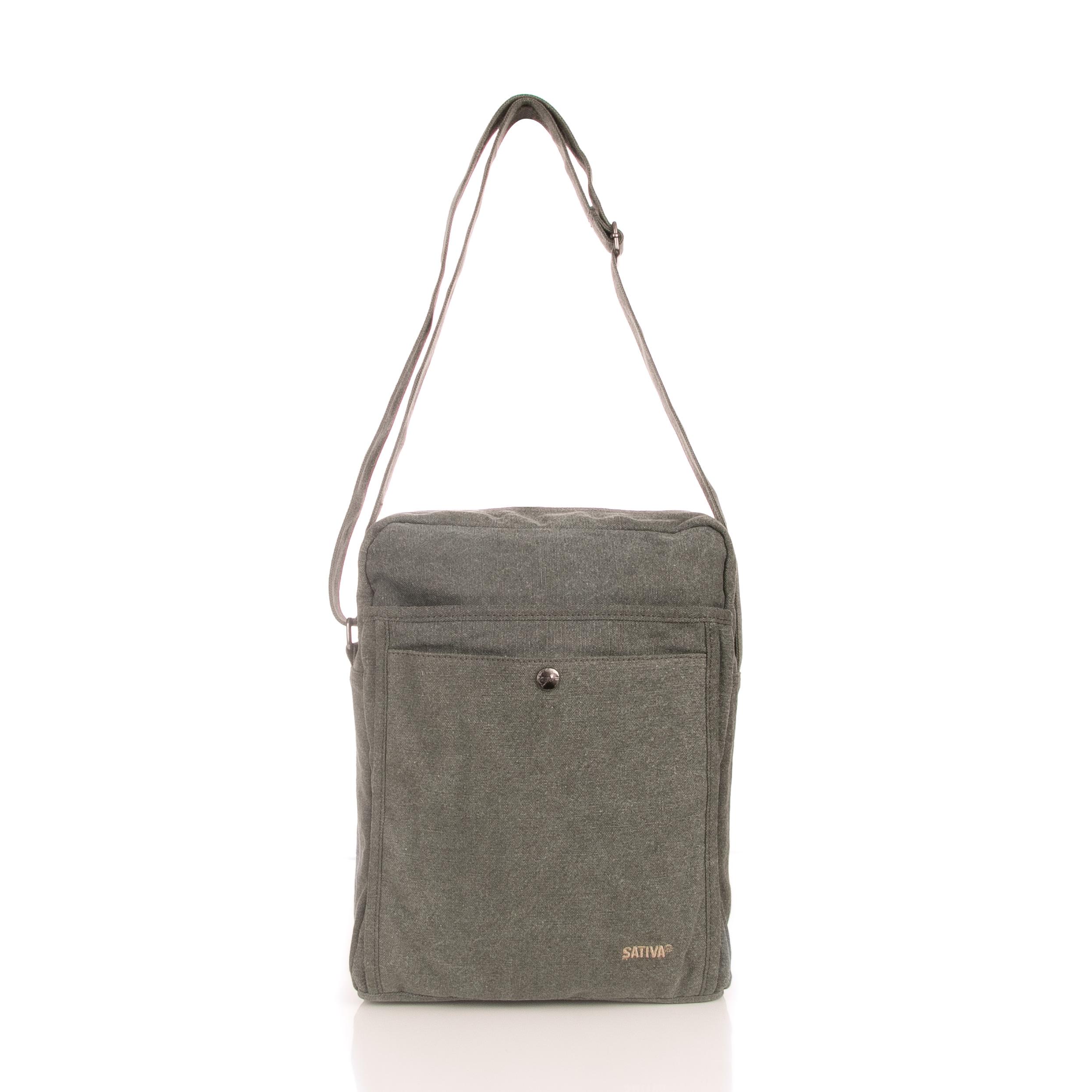 Sativa Hemp A4 Shoulder Bag