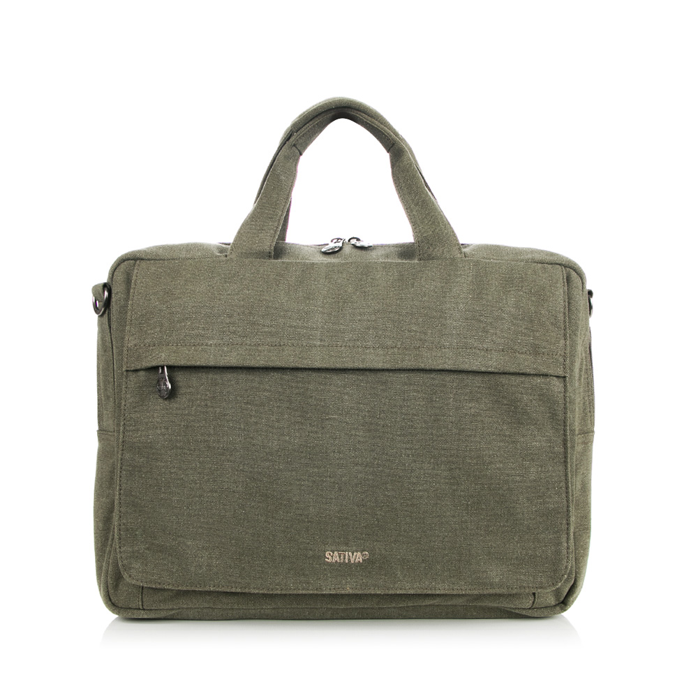 Sativa Hemp Large Laptop Bag