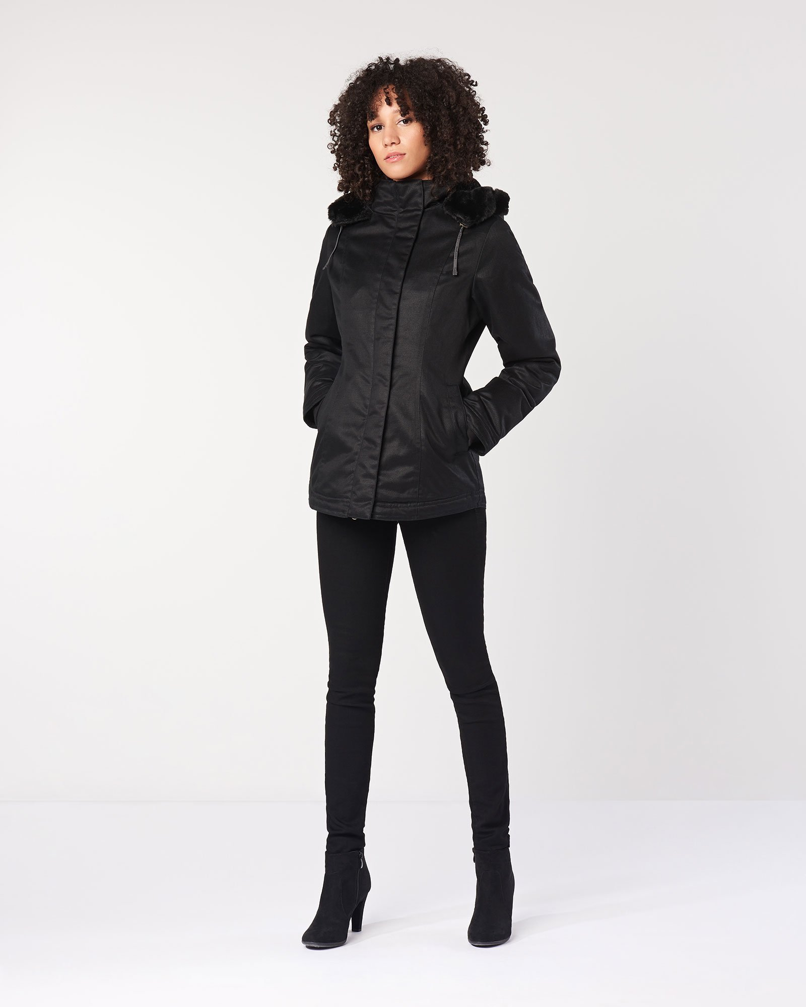 ed132a1af15f Ladies  Classic Hoodlamb in Nightwatch Black (FW18) by Hoodlamb ...